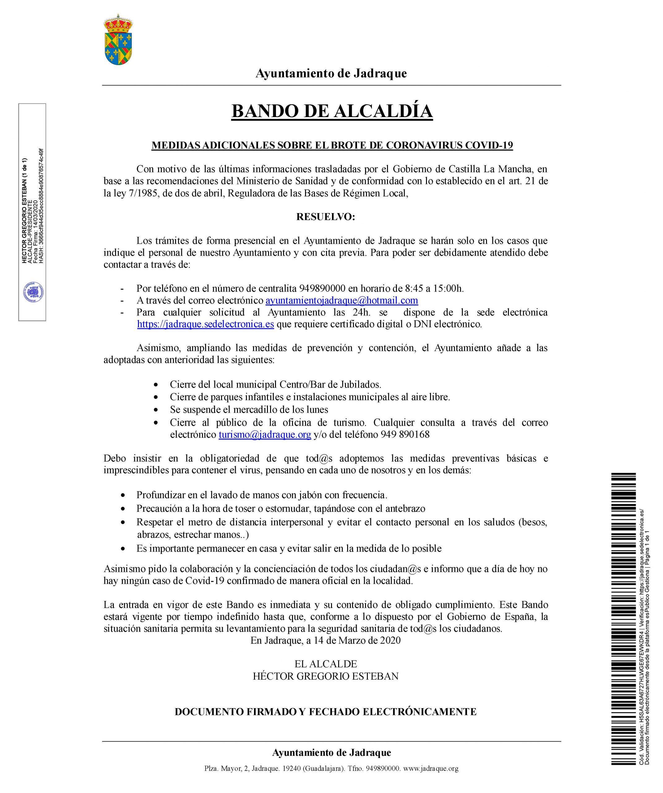 BANDO FIRMADO MEDIDAS ADICIONALES COVID 19