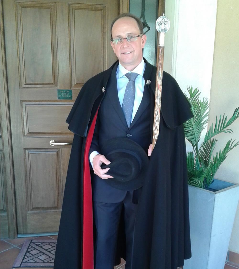 Mayordomo San Antón Jadraque 2017 Justo Rojo Pérez