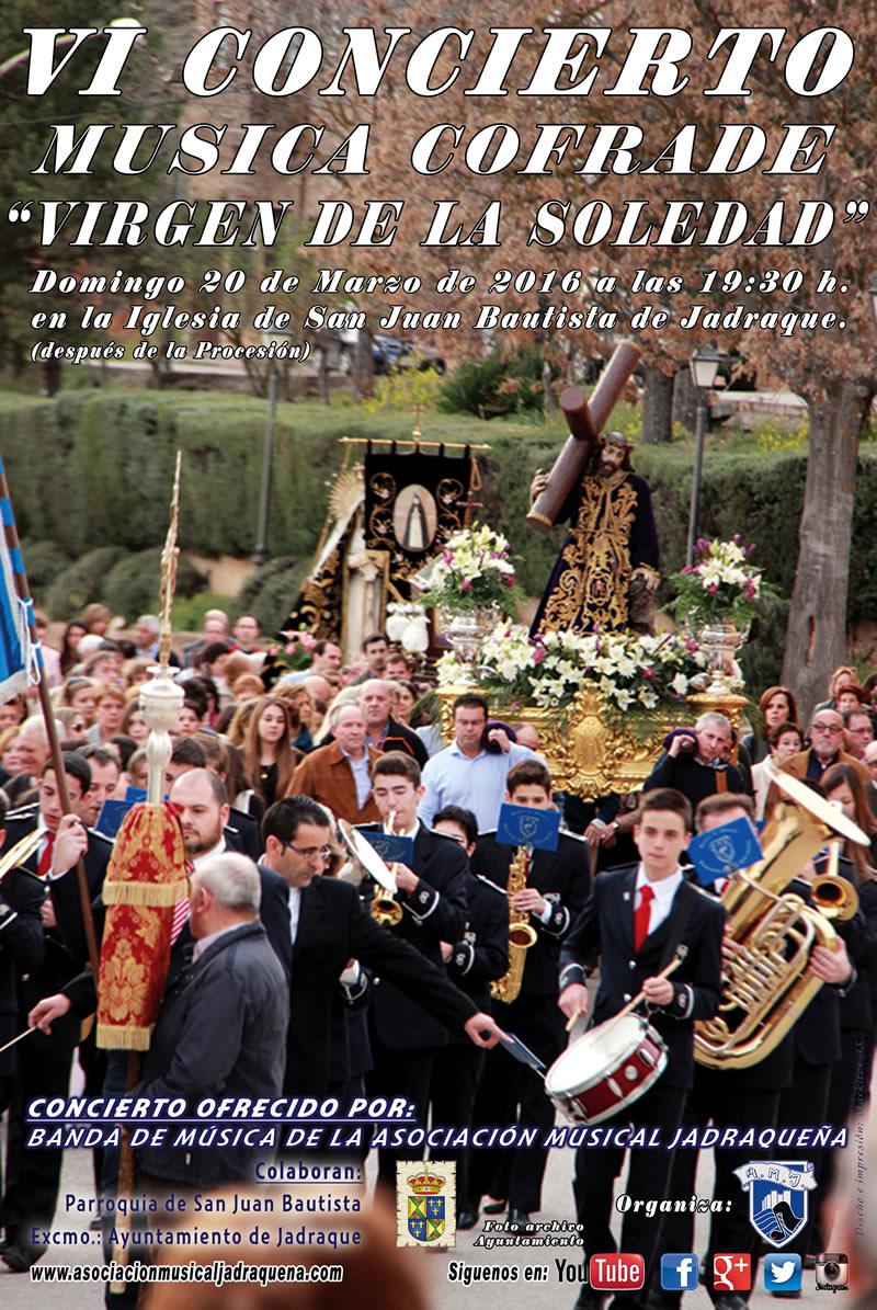 cartel concierto cofrade 2016