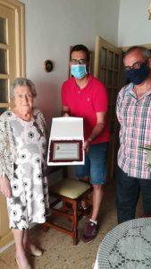 Jadraque despide a su centenaria, Pilar Pérez
