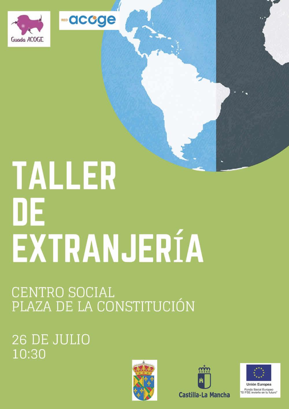 taller sobre inmigración y extranjeria