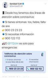 Emergencias Covid19 CLM