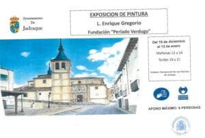 Exposición del 19 de diciembre al 13 de enero, Fundación «Perlado Verdugo»
