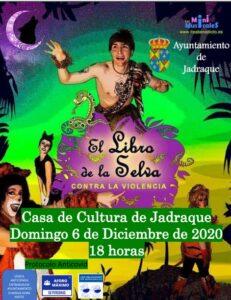 Musical Infantil El Libro de la Selva. Domingo 6 de Diciembre de 2020 – 18:00 horas