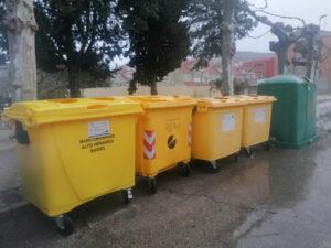 Nuevos contenedores amarillos