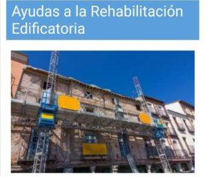 Ayudas a la Rehabilitación Edificatoria