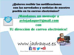 Noticias y Avisos en tu mail
