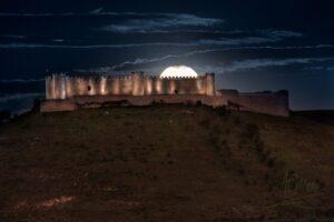 Superluna en el Castillo