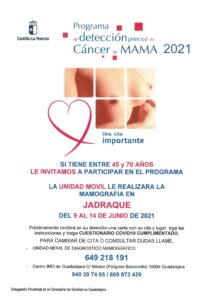 Prevención detención cancer de mama