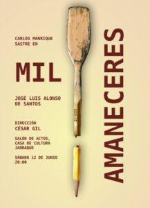 Teatro Mil amaneceres  – Sabado 12 de junio 20:00h