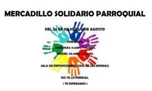 Lee más sobre el artículo Mercadillo Solidario